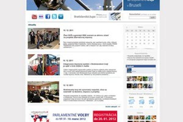 Nová webová stránka.