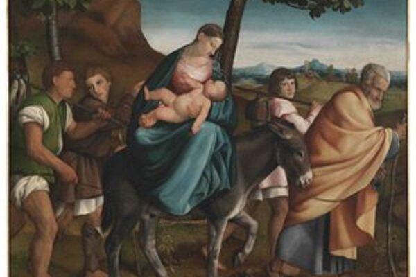Jacopo dal Ponte: Útek do Egypta