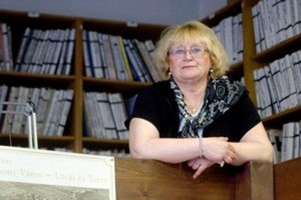Viera Obuchová pracuje od roku 1974 v Mestskom ústave ochrany pamiatok.