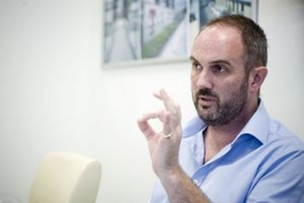 Jeremy Cristau, výkonný riaditeľ firmy Hamilton Group.