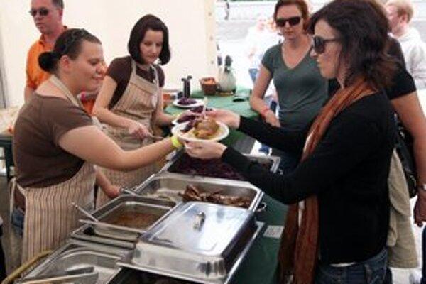 Food Festival počas minulých ročníkov.