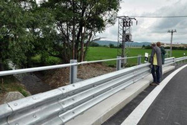 Opravený most v Budmericiach.