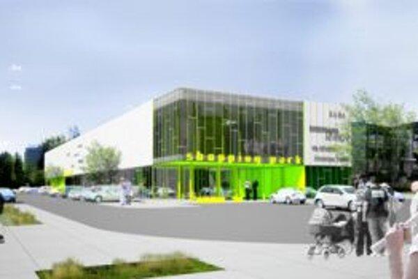 Projekt žiarskeho Shopping parku ožíva.