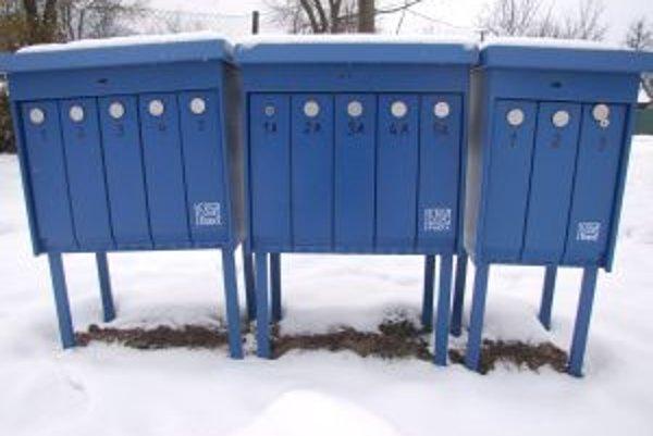 Ľuďom na ulici Záhrb budú poštu doručovať do takzvaných OUT Boxov.