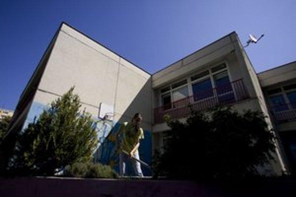 Krízové centrum Brána do života. V piatok tu bolo veľké upratovanie.