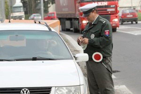 Vodiči najmenej dodržiavali maximálnu povolenú rýchlosť.