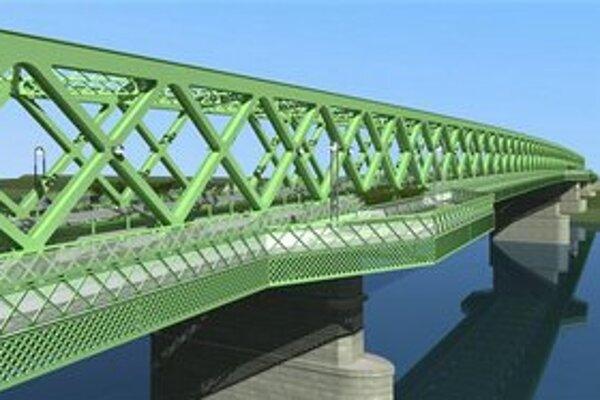Plánovaná nová konštrukcia Starého mosta.