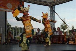 Gamelan prišiel k Eurovei aj vlani. Ľudia si mohli pozrieť napríklad aj tanec z Bali. Indonézsky orchester tento rok príde 12. augusta.