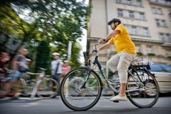 Cyklistika v Bratislave.