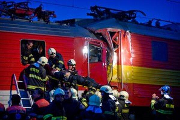 Vlaky sa zrazili v piatok 26.10.
