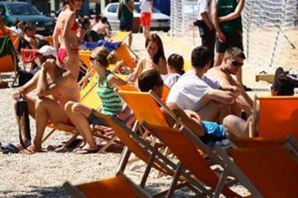 Pláž v Inchebe funguje už tretí rok
