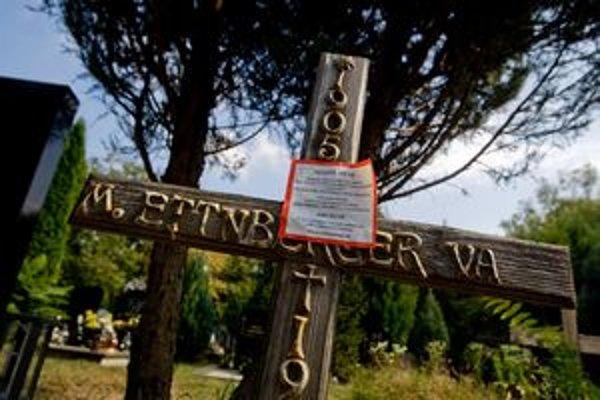Keď Marianum zaviedlo platenie hrobových miest na jeden rok, z pozostalých sa stali neplatiči