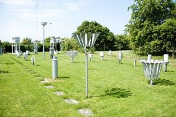 Meteorologická stanica na Kolibe. V Bratislave sú tri.