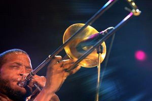 Na posledných džezákoch v PKO na jeseň hral i americký pozaunista Trombone Shorty, kamarát Lennyho Kravitza