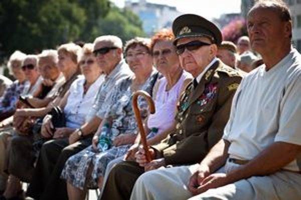 Na oslavy prišli aj priami účastníci Slovenského národného povstania.