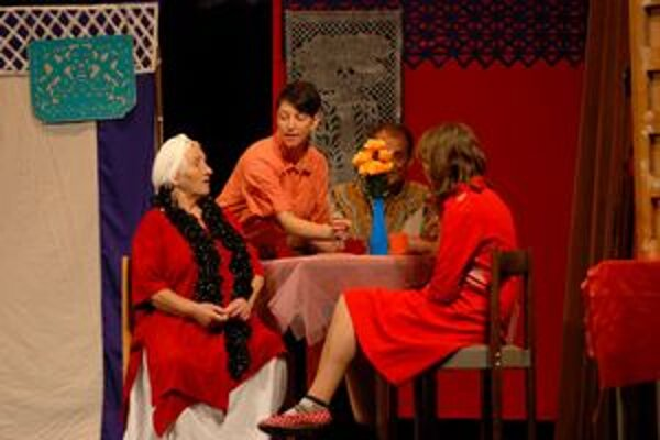 Predstavenie Divadla bez domova
