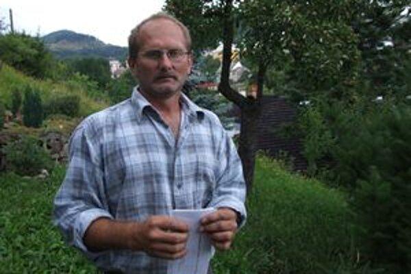 Roman Štelcl tvrdí, že problémy s vodou majú už celé roky.