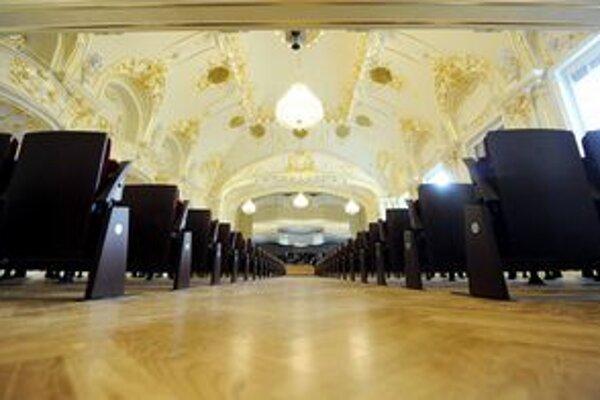 Sála Slovenskej filharmónie.