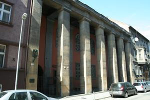 Ortodoxná synagóga na Heydukovej ulici.