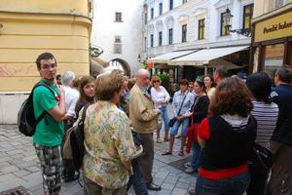 Sobotňajšia vychádzka priblížila Michalskú a Ventúrsku.