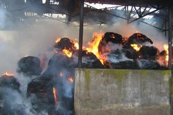 Oheň spôsobil škodu 5-tisíc eur.