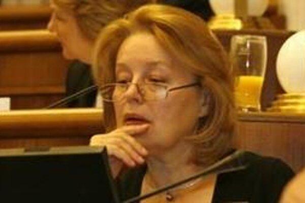 Magda Vášáryová (SDKÚ) kandiduje za primátorku Bratislavy.