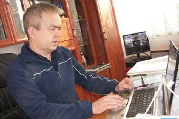 Starosta Brehov Juraj Tencer.