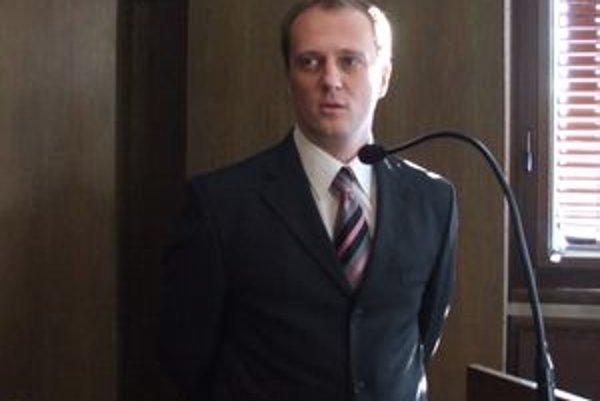 Róbert Legíň. Okresný policajný šéf sa chce zamerať najmä na drogovú kriminalitu.