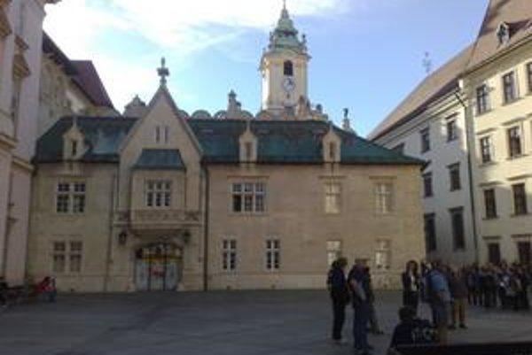 Do Starej radnice sa turisti ani návštevníci Mestského múzea nedostanú.