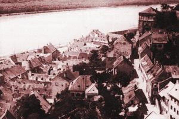 Stará časť hlavného mesta.