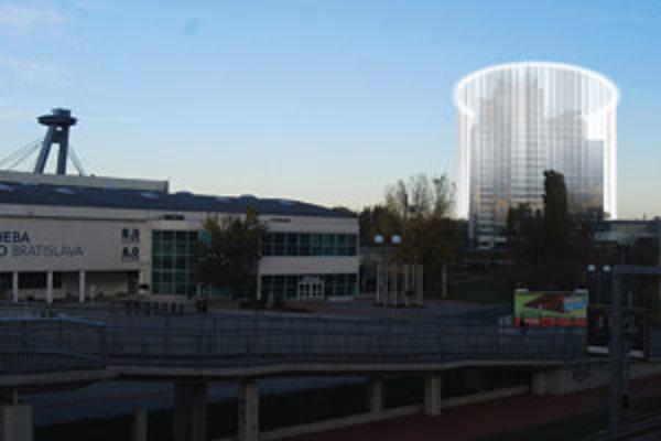 """Možná verzia """"Aupark tower"""""""