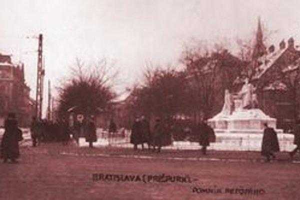 Emanuel Procházka: Promenáda (1919).