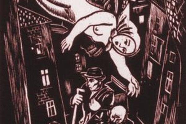 Otto Weiner-Kráľ: Spev ulice, 1937.