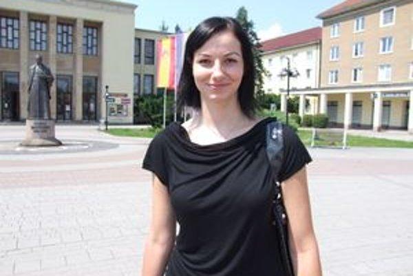 Ivana Bramborová. V slovenskej volejbalovej reprezentácii má stabilné miesto.