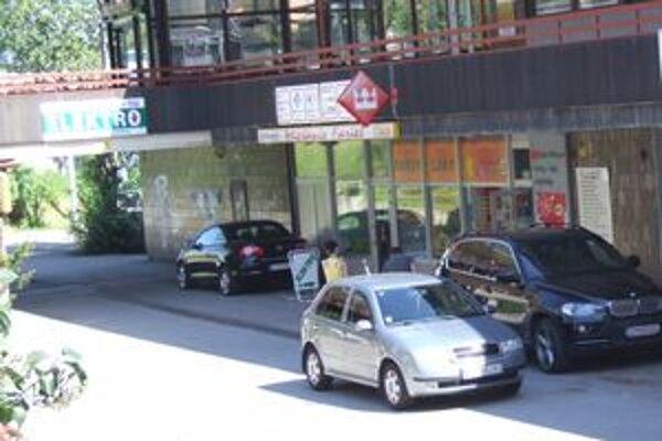 Objekt Žiaranu. Incident sa odohral v týchto miestach.