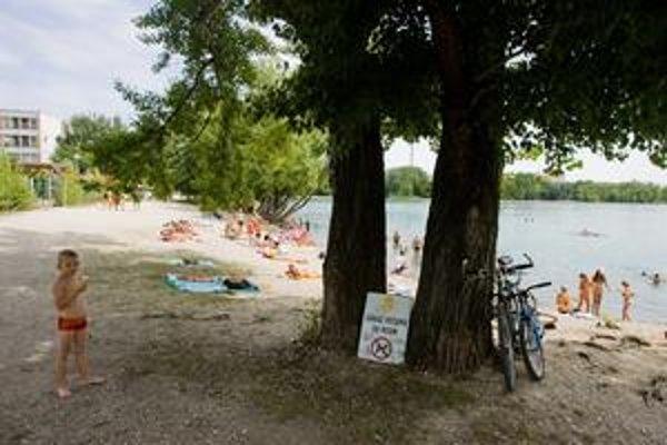 Pri petržalskom jazere Veľký Draždiak by psy mali byť len na zákazových značkách. V skutočnosti sa tu kúpu spolu s ľuďmi. Každoročne sa opakujú spory s psičkármi, niektorí totiž prichádzajú práve preto, aby svojho psa vykúpali.