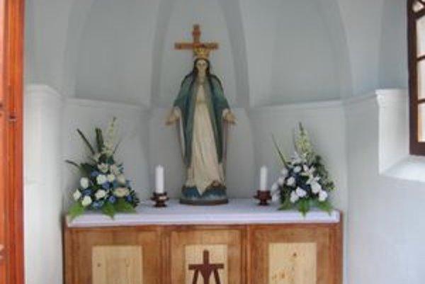 Kaplnku v Lúčkach sa podarilo zachrániť vďaka podpore obyvateľov.