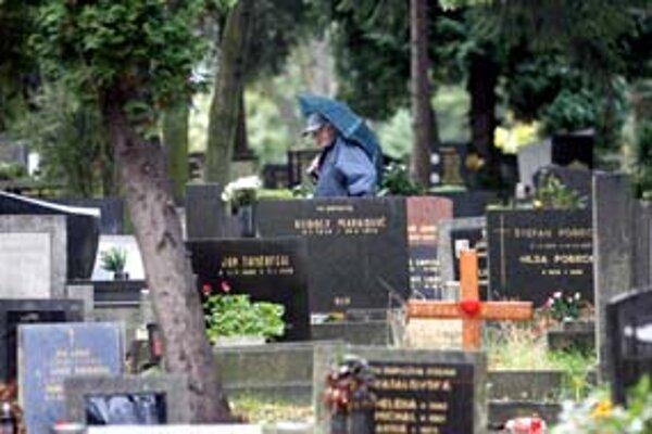 Cintorín Slávičie údolie by sa už na budúci rok v lete mal rozšíriť o 320 miest.