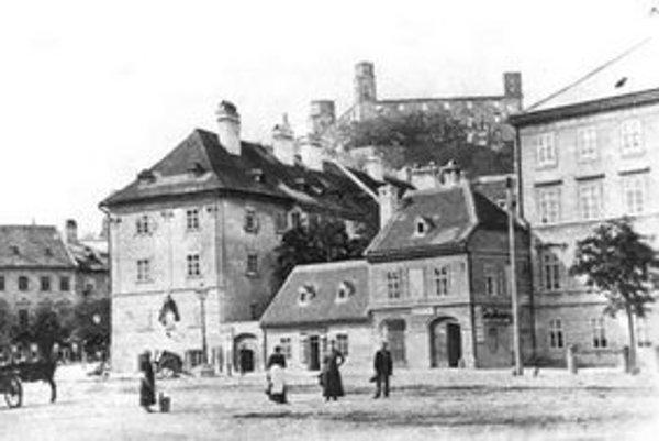 Karol Körper: Hviezdoslavovo námestie, 1885.