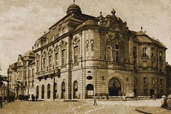 Reduta okolo roku 1918.