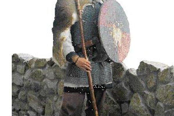 Člen šermiarsko-divadelnej spoločnosti Argyll.
