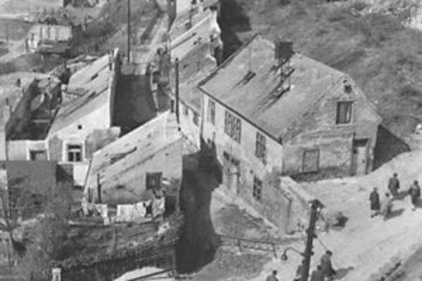 Začiatok Bubenkovej ulice.