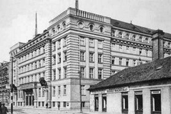 Policajné riaditeľstvo v roku 1926.