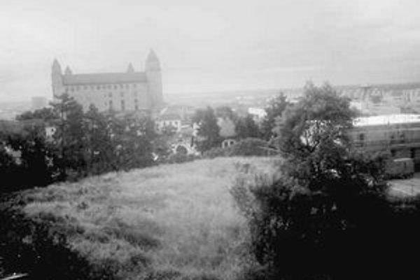 Pozemok, kde by podľa zámeru mal stáť Diplomat park, sa nachádza v blízkosti dominanty mesta – Hradu.