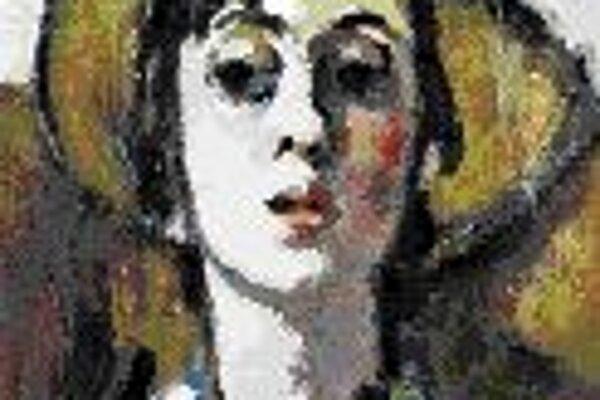 Marie-Louise von Motesiczky: Autoportrét so slameným klobúkom, 1937.