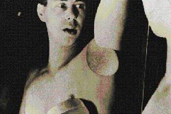 Herbert Bayer: Autoportrét, 1923.