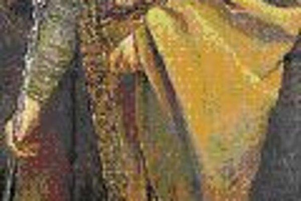 Gustav Klimt: Friedrich I. von Zollern (1885). Zámok Peleš, Sinaia.