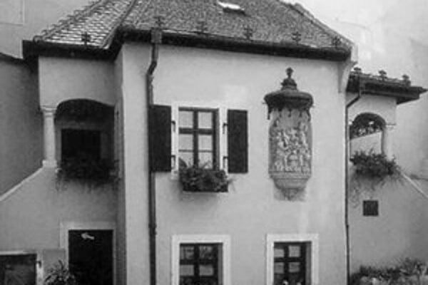Rodný dom J. N. Hummela.