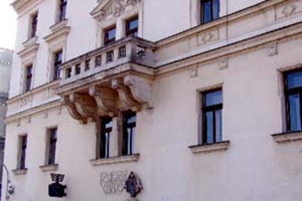 Zsigrayovu kúriu získa štát. Múzeum židovskej kultúry v nej zostane.