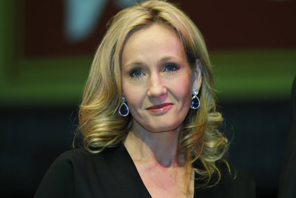 Joanne K. Rowlingová.